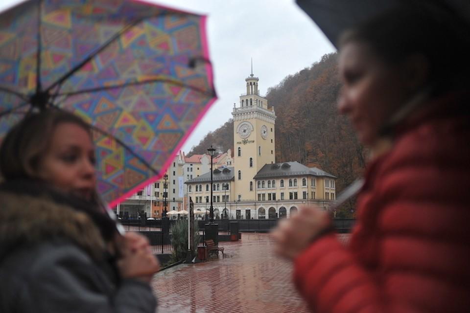 Дожди в Сочи - привычное дело