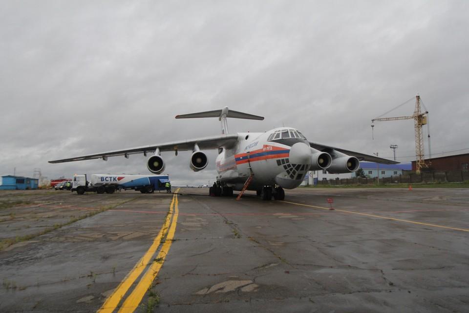МЧС: экипаж пропавшего Ил-76 уже тушил сильные пожары в Иркутской области в 2015 году