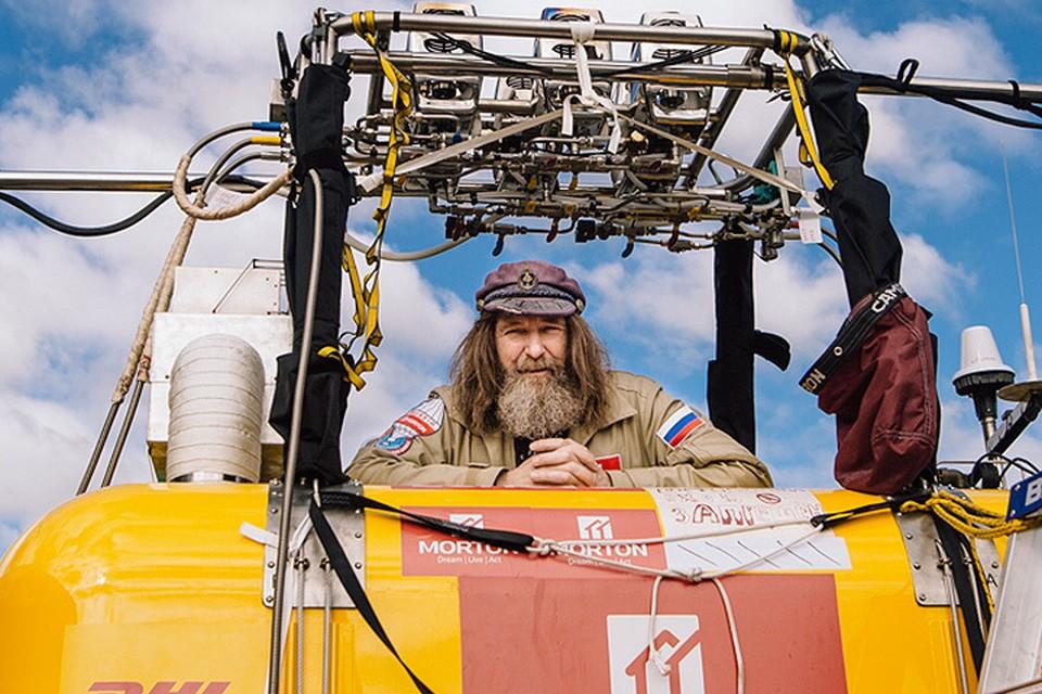 Федор Конюхов готовится к новому мировому рекорду - кругосветному перелету над планетой за 14 дней. Фото: предоставлено организаторами
