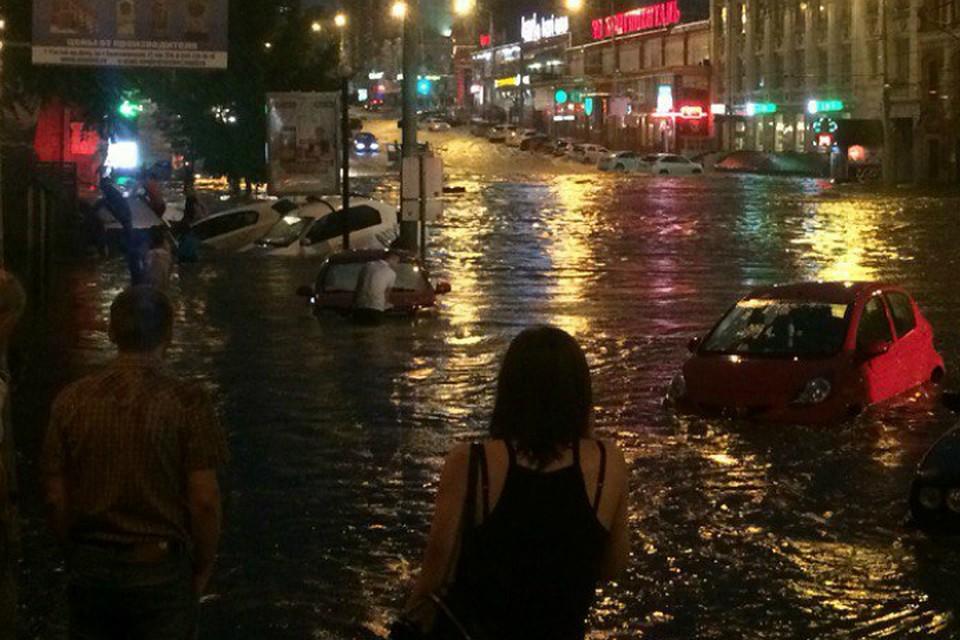 Фото наводнения в ростове на дону