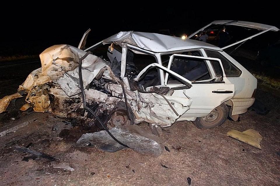 авария на трассе краснодар со стороны ростова в сентябре на машинах ваз2114 и mazda