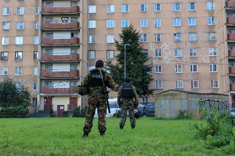 Боевики скрывались в квартире на десятом этаже