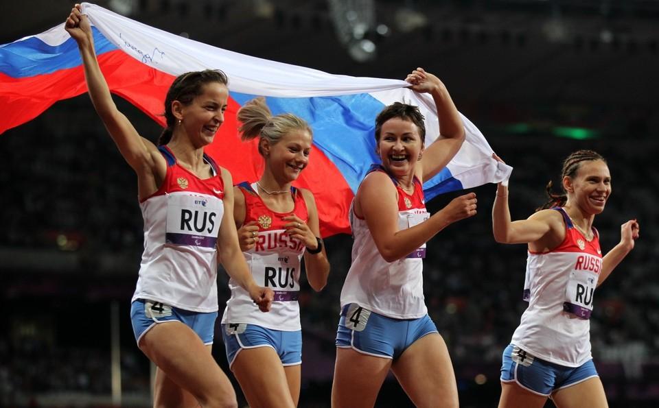 На Паралимпийских Играх 2012 года российская команда заняла второе место в общекомандном зачете.