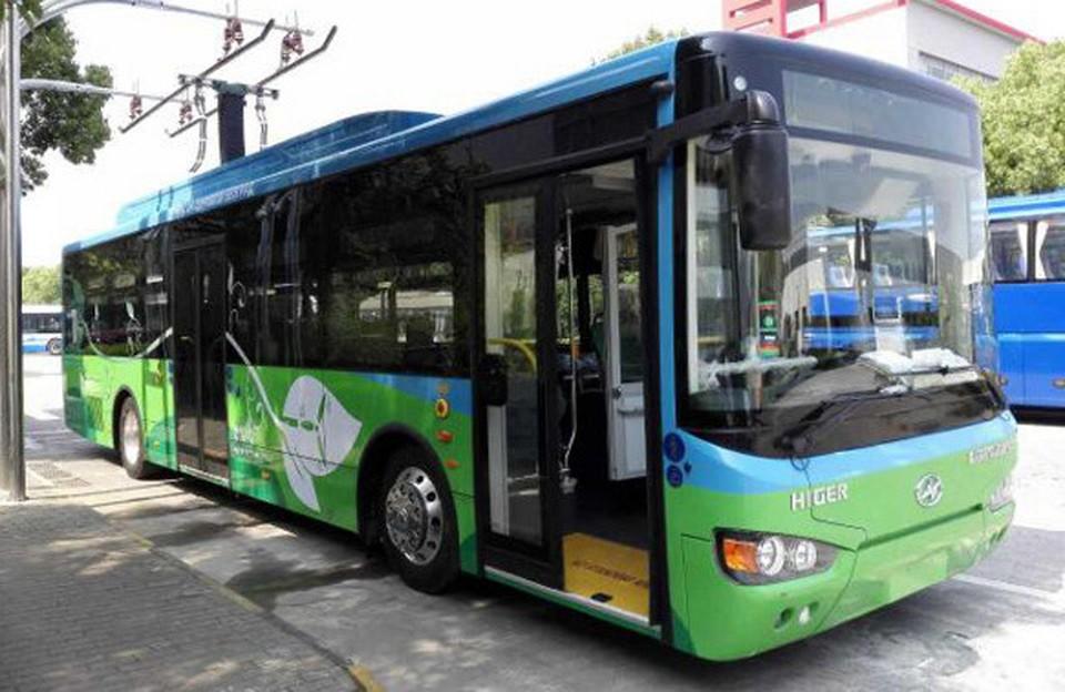 В Белграде появились электробусы