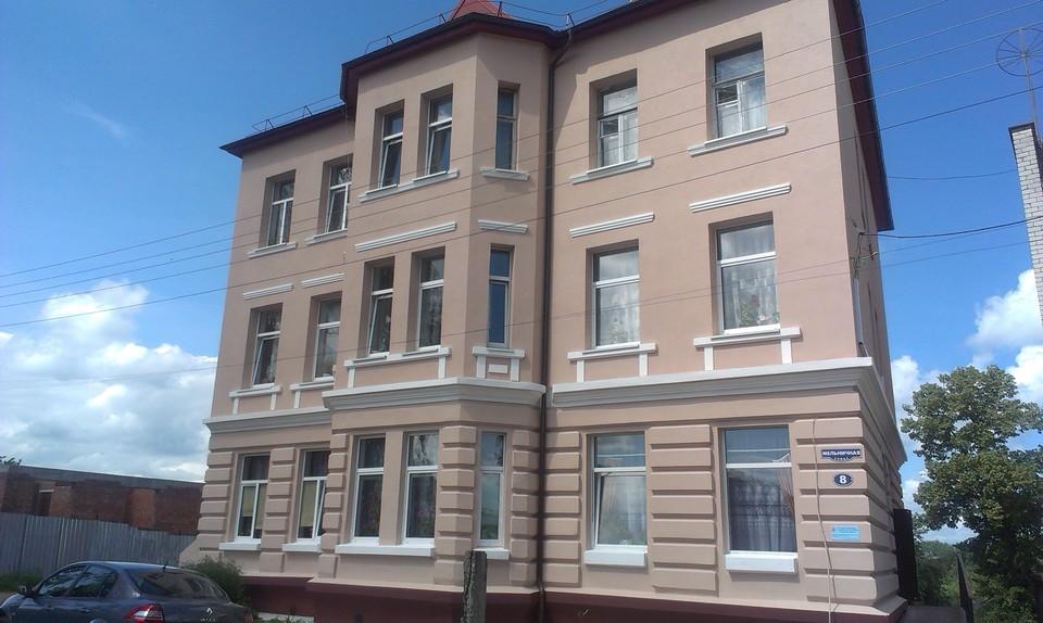 Дом в поселке Знаменск Калининградской области после ремонта.