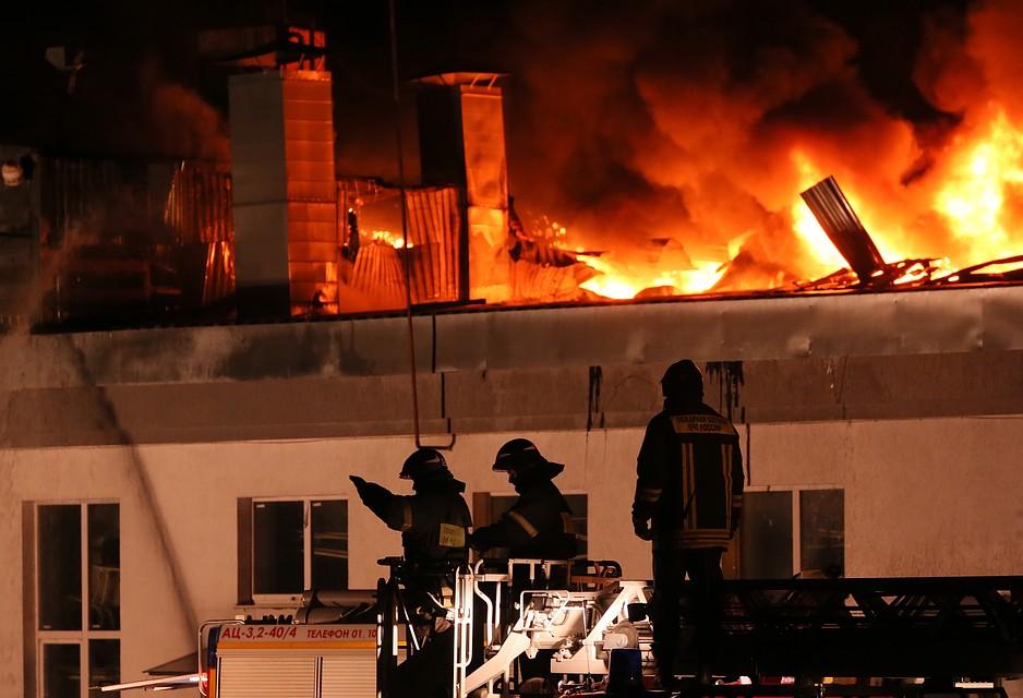 Цвет московского пожара