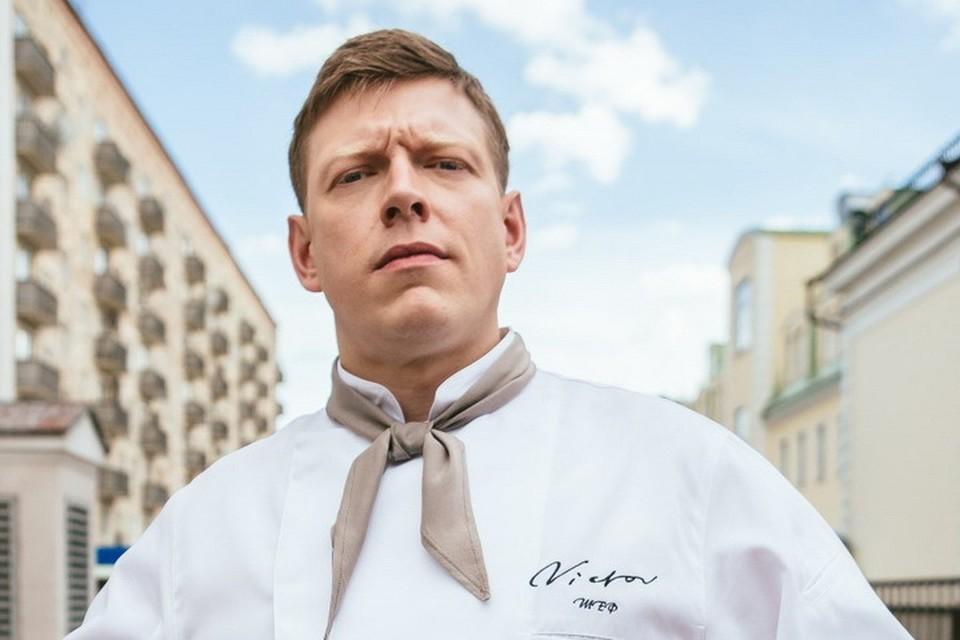 """Шеф-поваром в """"Отеле """"Элеон"""" станет Сеня (Сергей Лавыгин). Фото СТС."""