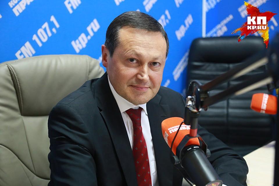 Эдхам Акбулатов, глава Красноярска