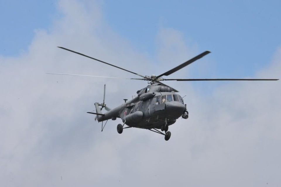 Российские военные не пострадали при обстреле вертолета ВКС в Сирии
