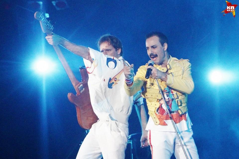 Шоу-коллектив «God save the Queen» с программой «Queen» выступили в Минске.