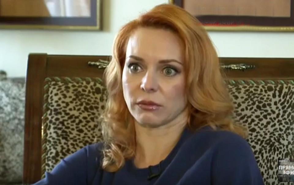 """Марина Анисина рассказала страшную правду о своем браке с Джигурдой. Фото: кадр программы """"Прямой эфир""""."""