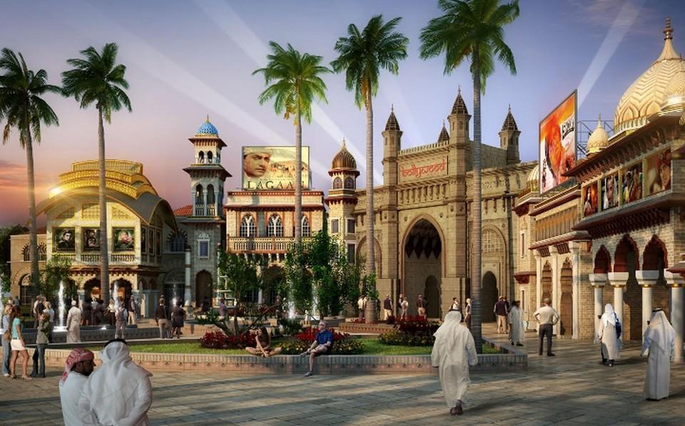 В новом комплексе из трех тематических парков - сто аттракционов. На весь отпуск хватит! Фото предоставлено Dubai Parks and Resorts.