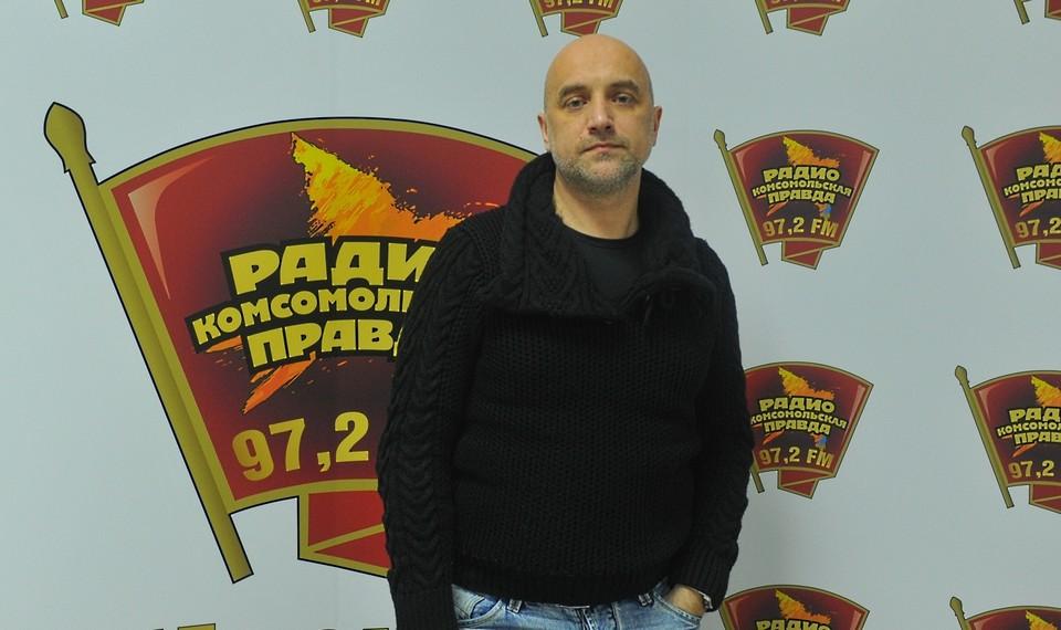 Известный писатель пришел подвести политические и культурные итоги года в эфир Радио «Комсомольская правда».