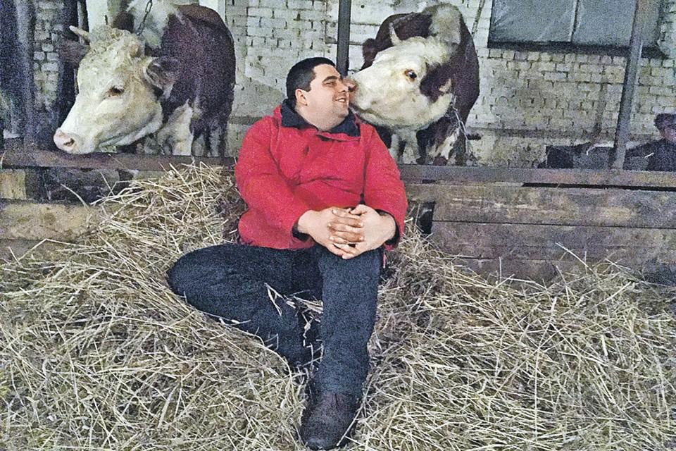 Вы посмотрите на эту фермерскую идиллию! И чиновники еще требуют, чтобы Вадим Рошка  из-за одной бумажки пустил своих буренок под нож?
