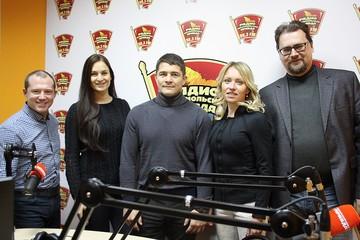 Великие спортсмены в гостях Радио «Комсомольская правда« в Кирове»