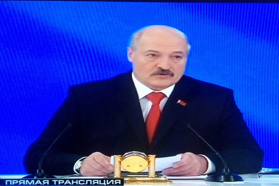У президента спросили, что он думает об исчезнувших в Беларуси людях.