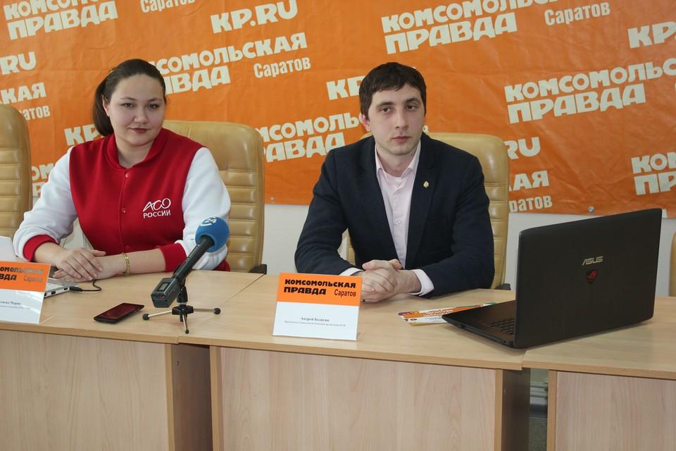 Молодёжные лидеры Саратова рассказали в эфире об участии в российской акции «100 дней до студенческой весны»