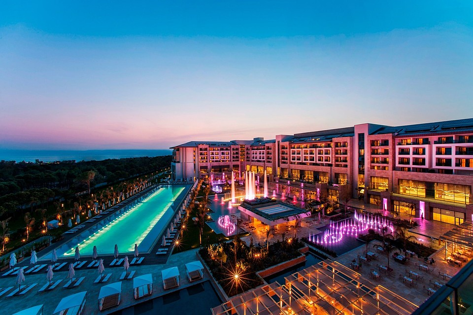 Отель Regnum Carya Golf & SPA Resort Hotel.