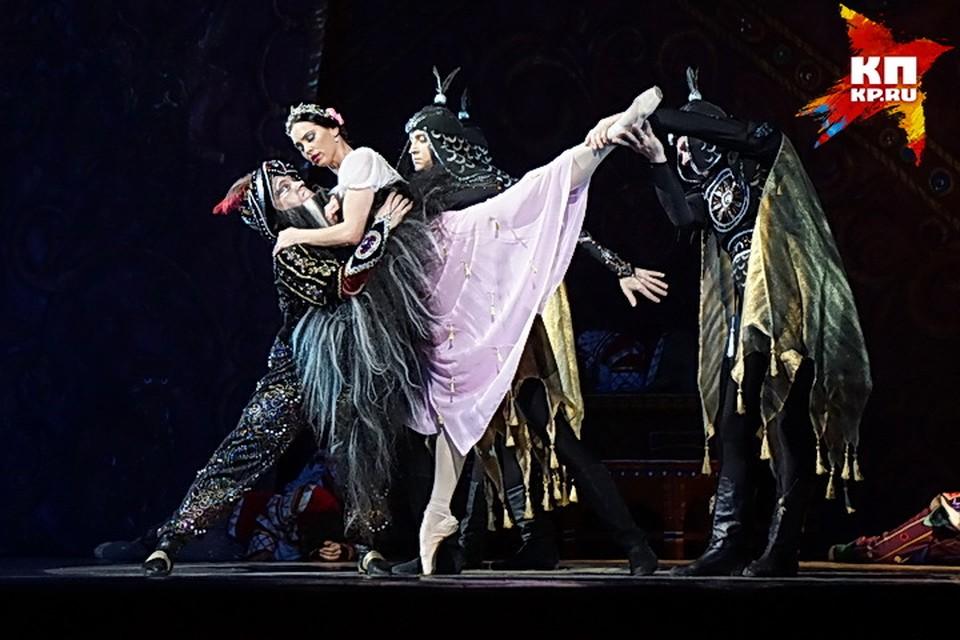 """Откроет фестиваль балет """"Руслан и Людмила""""."""