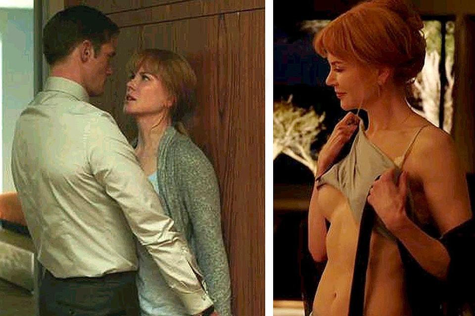 сексуальные сцены из фильмов с николь кидман