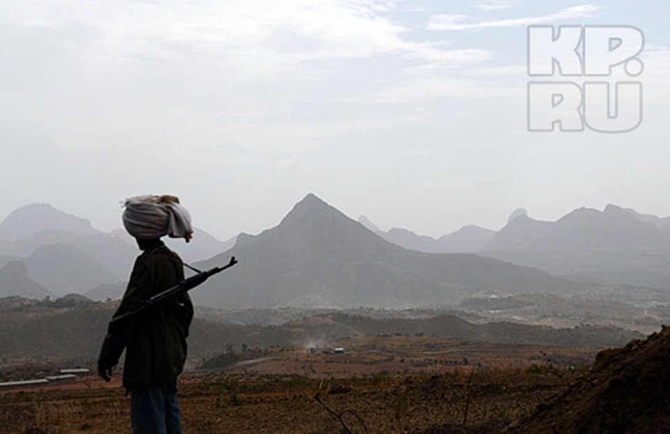 Хороший автомат в Эфиопии стоит как верблюд