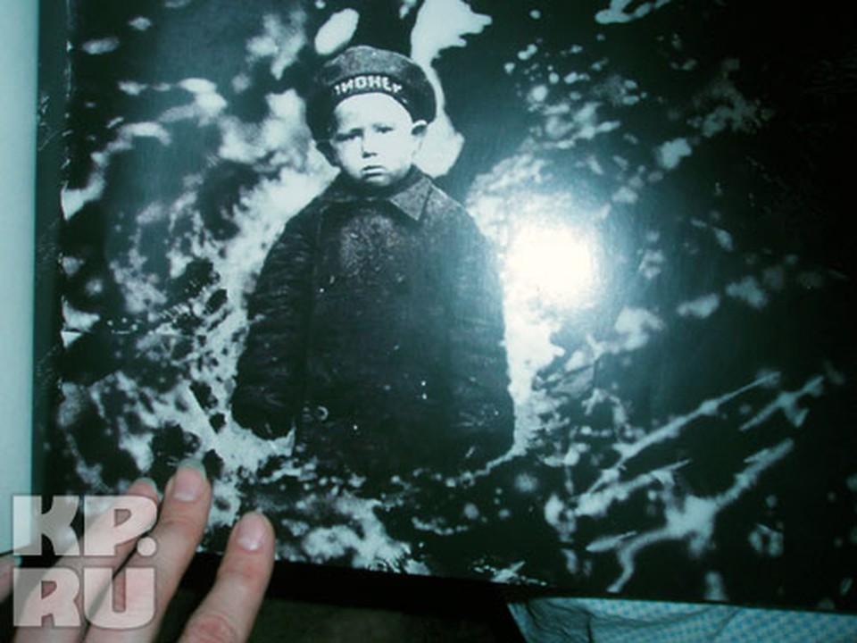 Леша Леонов в Листвянке, в 3 годика, пережил с семьей страшный голод