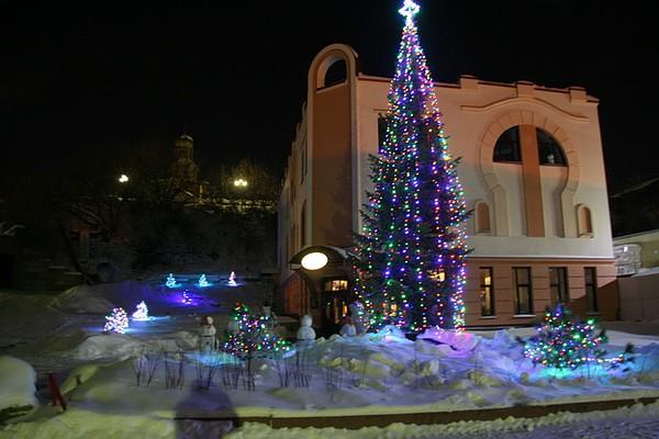томск зимний городок фото бегаю