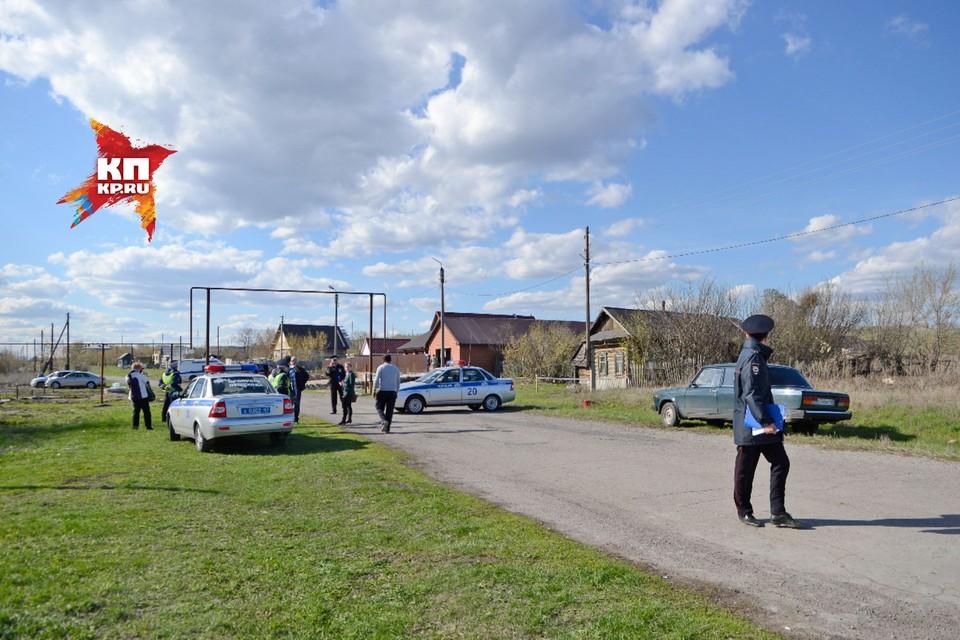 В деревню Ивашевку Сызранского района стянули сил полиции