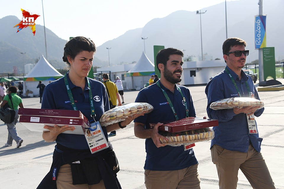 Олимпийский Рио де Жанейро глазами нашего фотокорреспондента Владимира Веленгурина. День первый