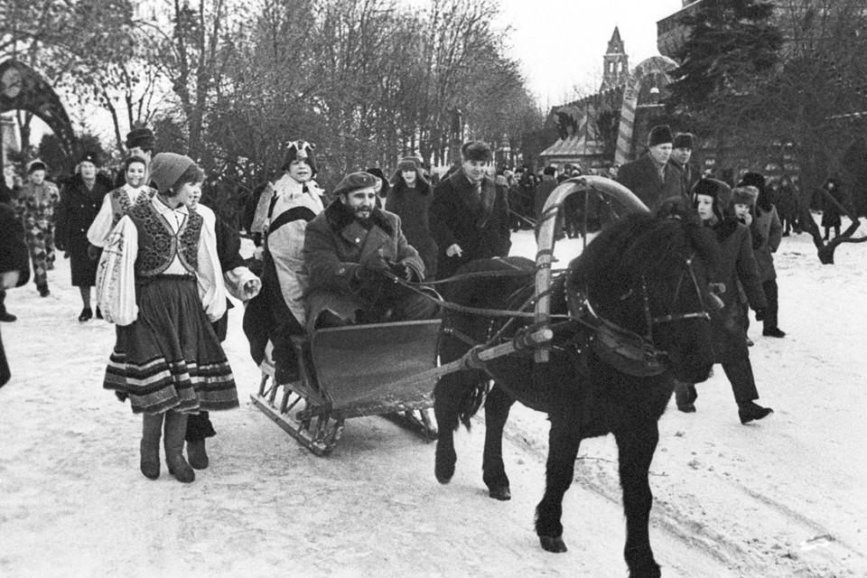 1964 год. Праздник русской зимы