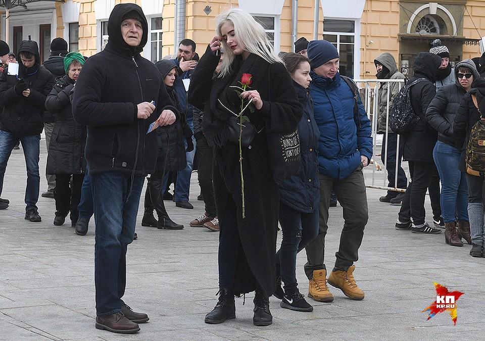 В Москве прошел Марш памяти Бориса Немцова