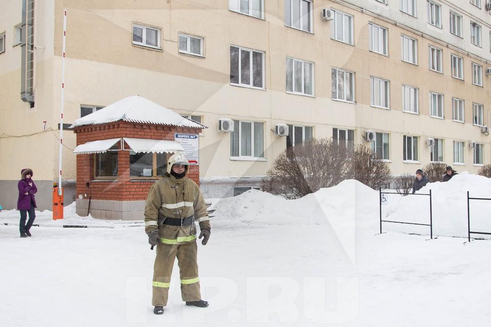 Как эвакуировали горбольницу №3