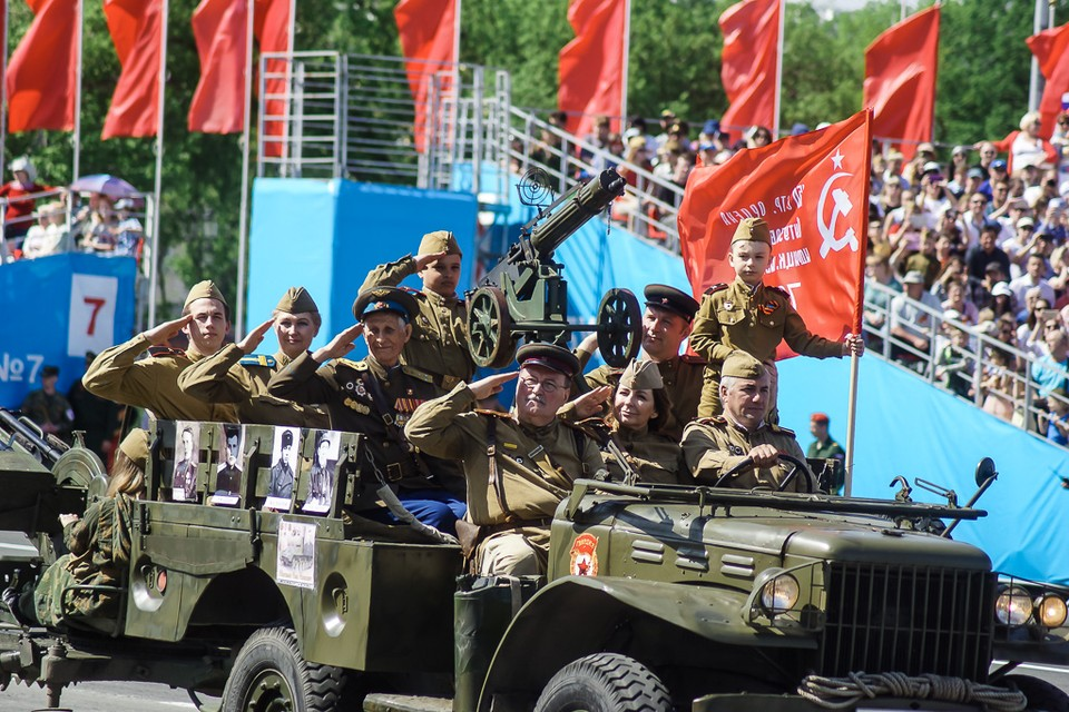 Парад Победы в Самаре 2019: фотографии с площади Куйбышева