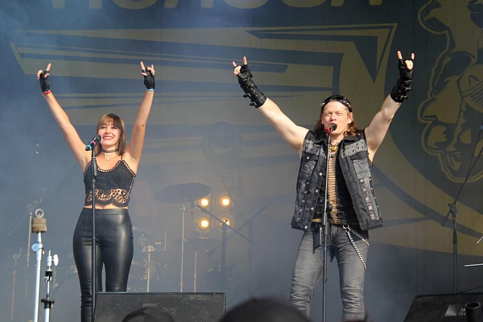 Выступление группы «Xe-NONE», второй день фестиваля.