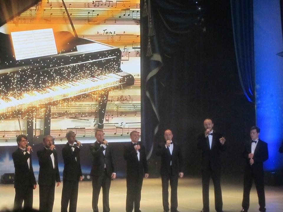 """Гала-концерт фестиваля """"Созвездие"""" в Курске"""