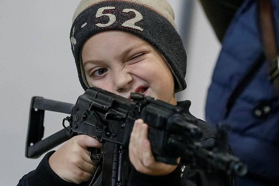 В Киеве открылась выставка «Оружие и безопасность»