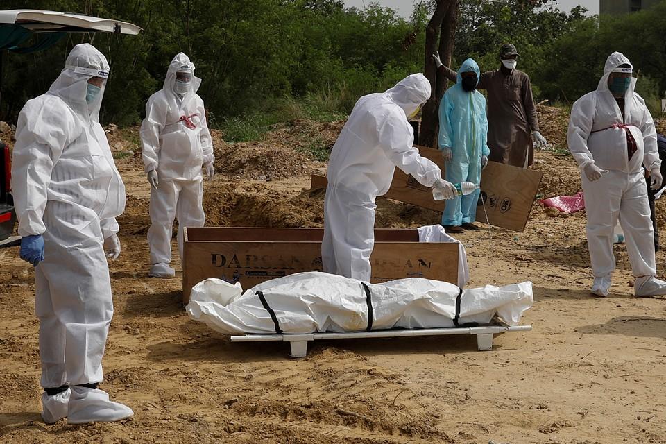 Общее число заразившихся коронавирусом в Индии превысило 508 тысяч