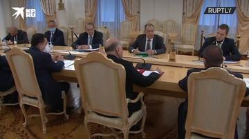 Лавров провел переговоры с главой МИД Ирака Фуадом Хусейном