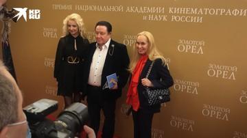 Звезды на кинопремии «Золотой Орел»