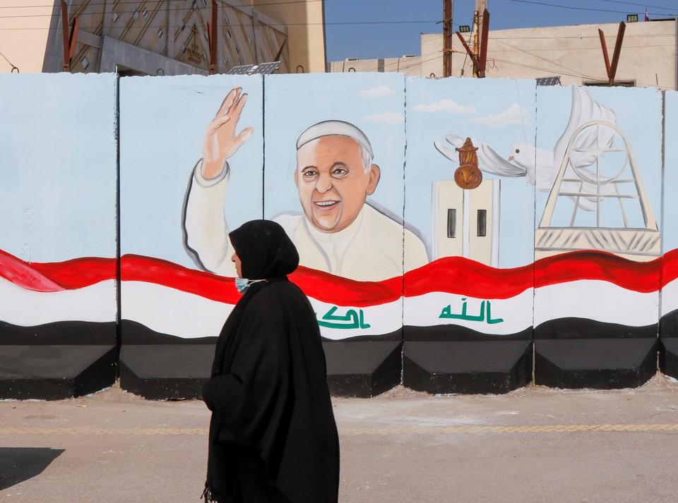 Багдад готовится к визиту в Ирак папы римского Франциска I.