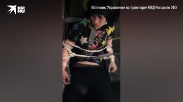 Жительница Новосибирска задержана за мелкое хулиганство на борту самолета