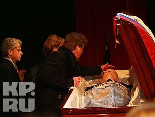 похороны абдулова александра фото