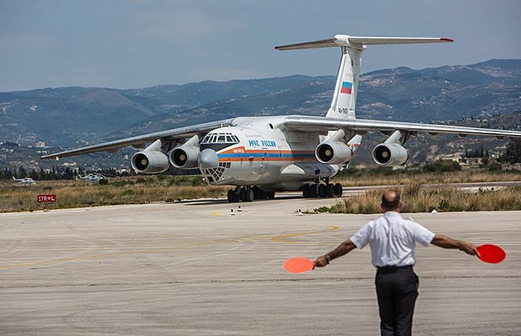 Известно, что Россия развернула свою авиабазу в Латакии