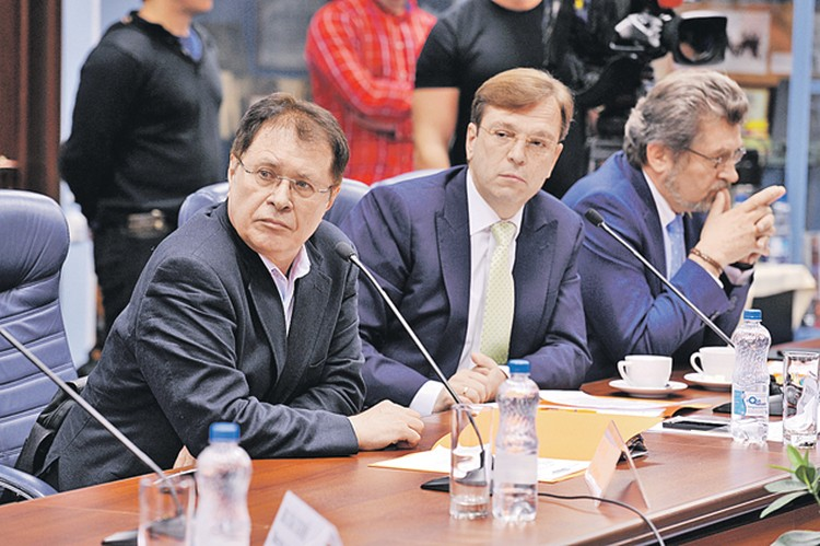 Олег Иванов (слева) и Никита Кричевский.