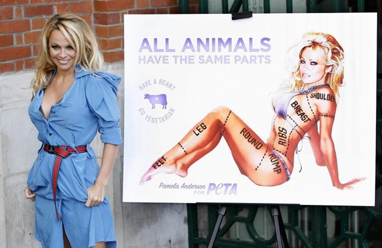 Госпожа Андерсон и в одежде выглядит неплохо, а уж в бикини - просто загляденье. Фото: blogspot.com