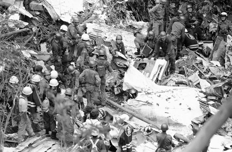 Одна из самых масштабных катастроф в истории японской гражданской авиации произошла 12 августа 1985 года