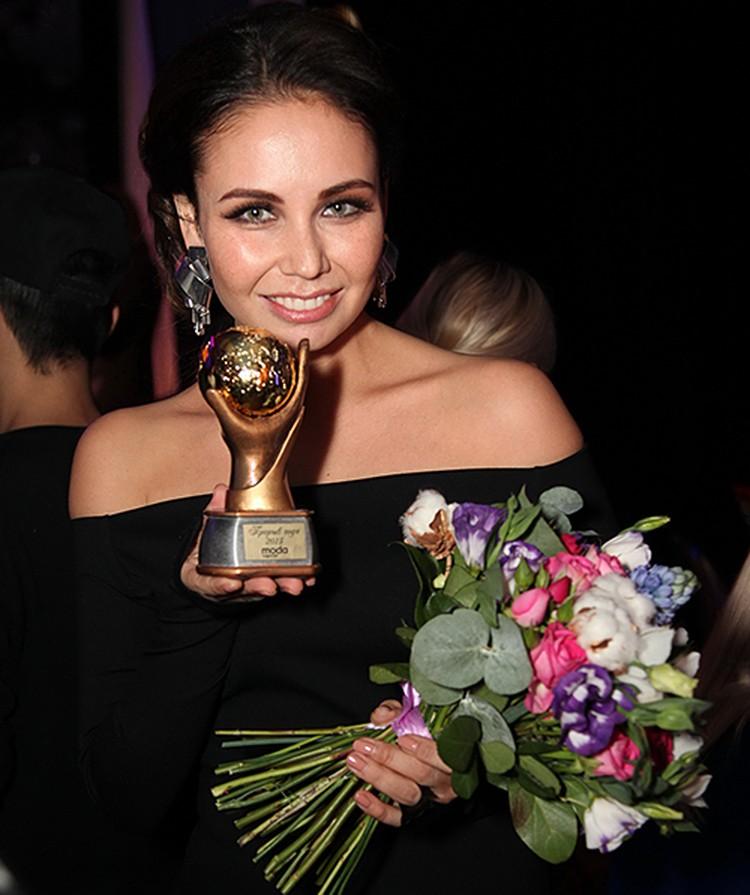 Ляйсан Утяшева получила награду в номинации «Лучший фитнес-проект года»