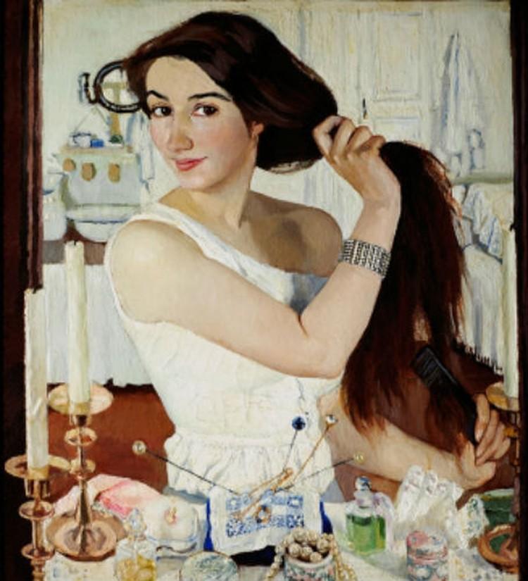 Автопортрет. Зинаида Серебрякова. Фото: из архивов Третьяковской галереи.