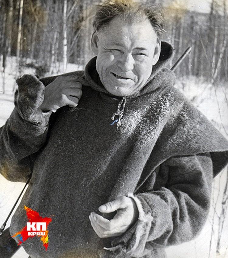 Манси Степан Куриков