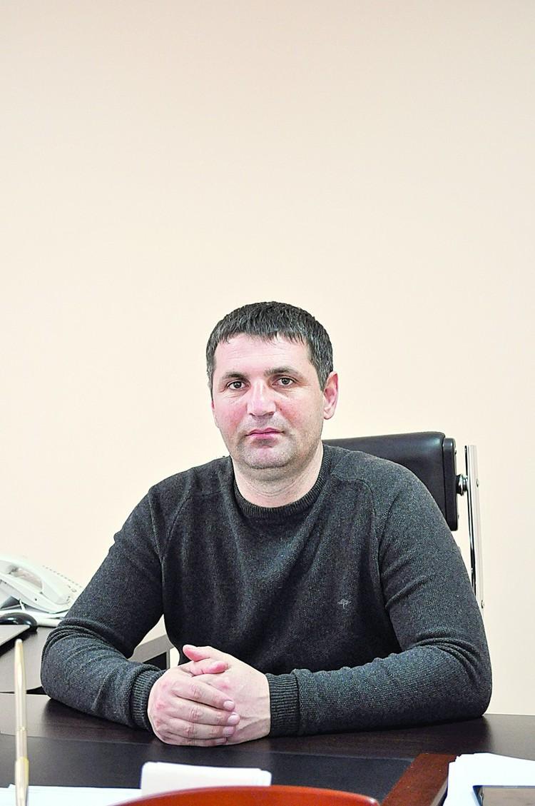 """Казбек Хугаев, директор ООО """"Южная строительная компания"""""""
